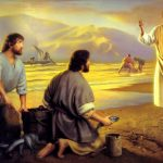 www-St-Takla-org--Life-of-Jesus-47-Calling-Disciples-by-Simon-Dewey